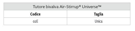 Air-Stirrup® Universe™ - Cavigliera bivalva