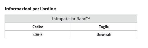 Infrapatellar Band™ -  Cinturino sottorotuleo