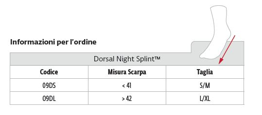 Dorsal Night Splint™ -  Tutore piede