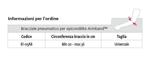 Armband™ - Fascia per epicondilite