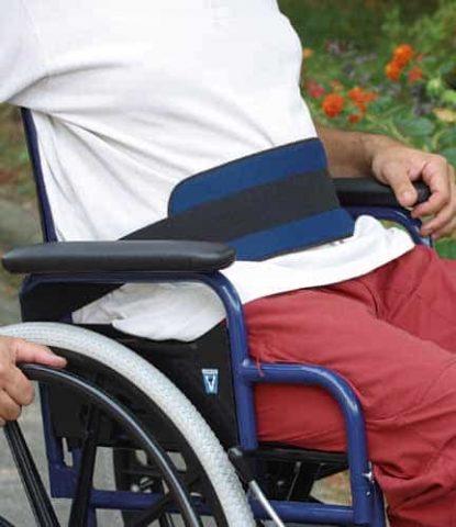 Pettorale economico - Cintura di sicurezza per carrozzine disabili
