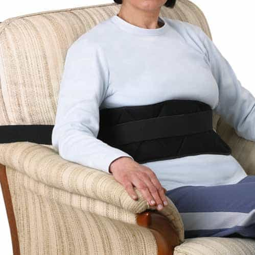 Pettorale per carrozzina e poltrona - Cintura di sicurezza per carrozzine disabili