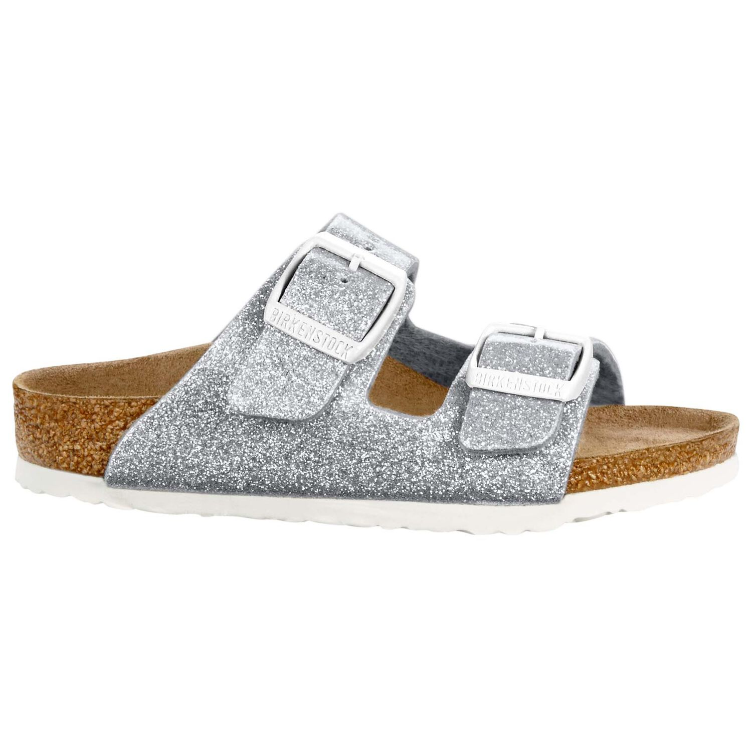 Arizona Kids - Magic Galaxy Silver / Birko-Flor - Ciabatte Ortopediche Per Bambini