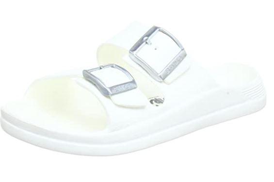 Birki Malibu - Bianco - Ciabatte ortopediche