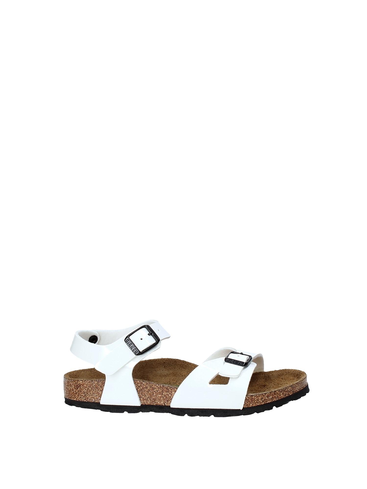 Rio - Bianco Laccato - Sandali Ortopedici