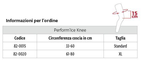 Perform'Ice Knee -  Tutore articolato per ginocchio post operatorio