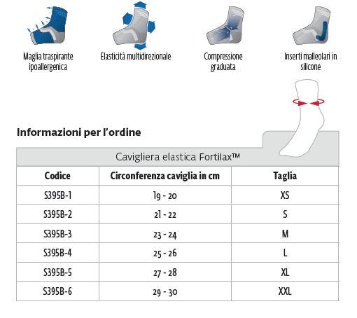 Fortilax™ - Cavigliera - Cavigliera elastica