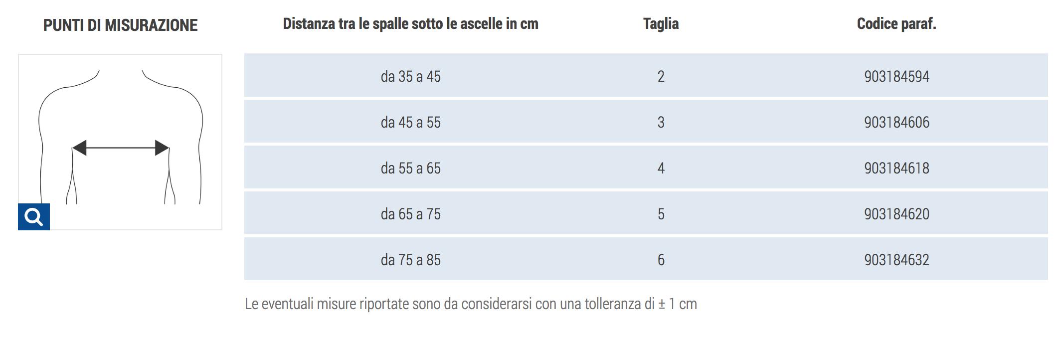 COPRISPALLE ANATOMICO - Coprispalle