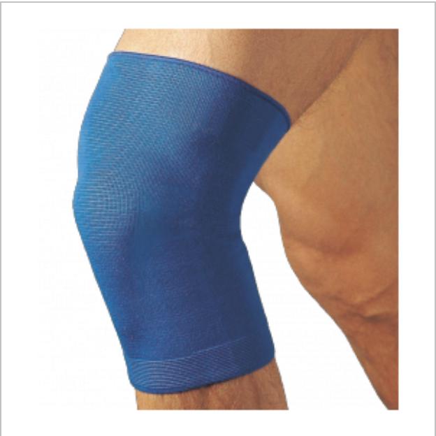 GINOCCHIERA SPORTIVA BLU - Tutore ginocchio