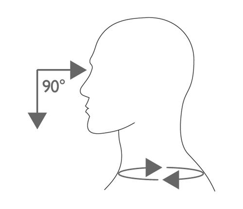 COLLARE CERVICALE MORBIDO MEDIO - Collare cervicale