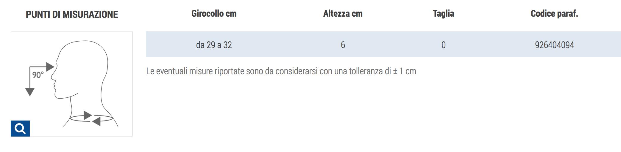 COLLARE CERVICALE MORBIDO - LINEA JUNIOR - Collare cervicale