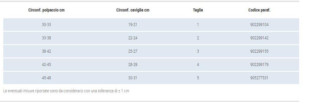 GAMBALETTO TERAPEUTICO A COMPRESSIONE DECRESCENTE KKL1 UNISEX - PUNTA APERTA - Gambaletto