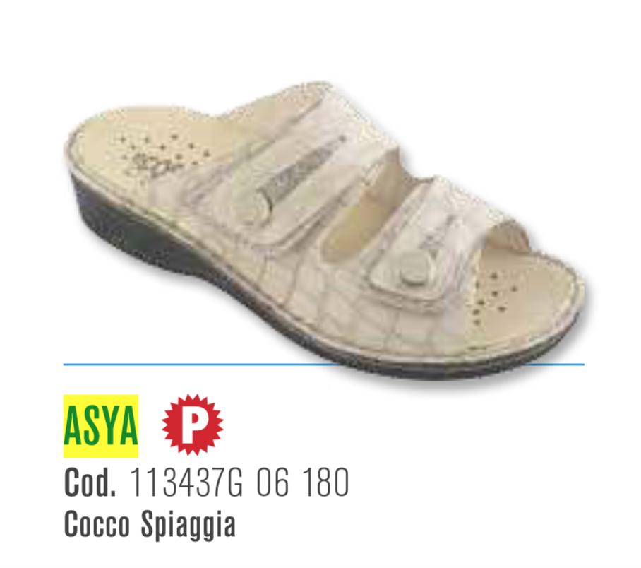 Asya - Ciabatte ortopediche donna