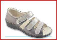 Electra 3 Velcri - Queen / Cocco Bronzo - Sandali ortopedici donna