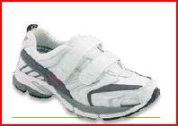 Ecorunning Velcro Unisex - Free Bianco - Scarpe ortopediche uomo