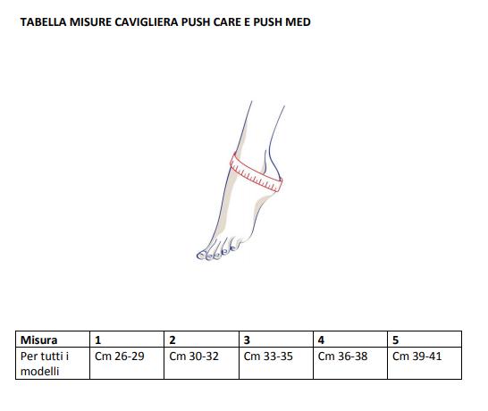 Cavigliera Push care - Cavigliera