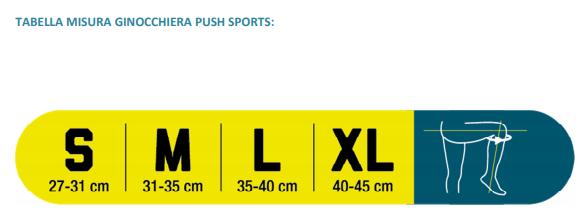 Ginocchiera Push sports - Ginocchiera