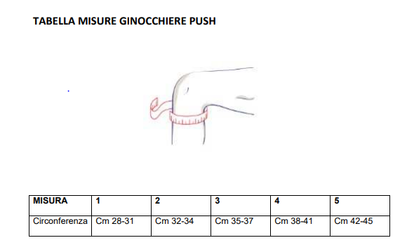 Ginocchiera Push med - Ginocchiera