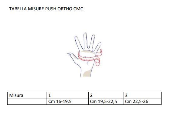 Push Ortho CMC  - Tutore pollice