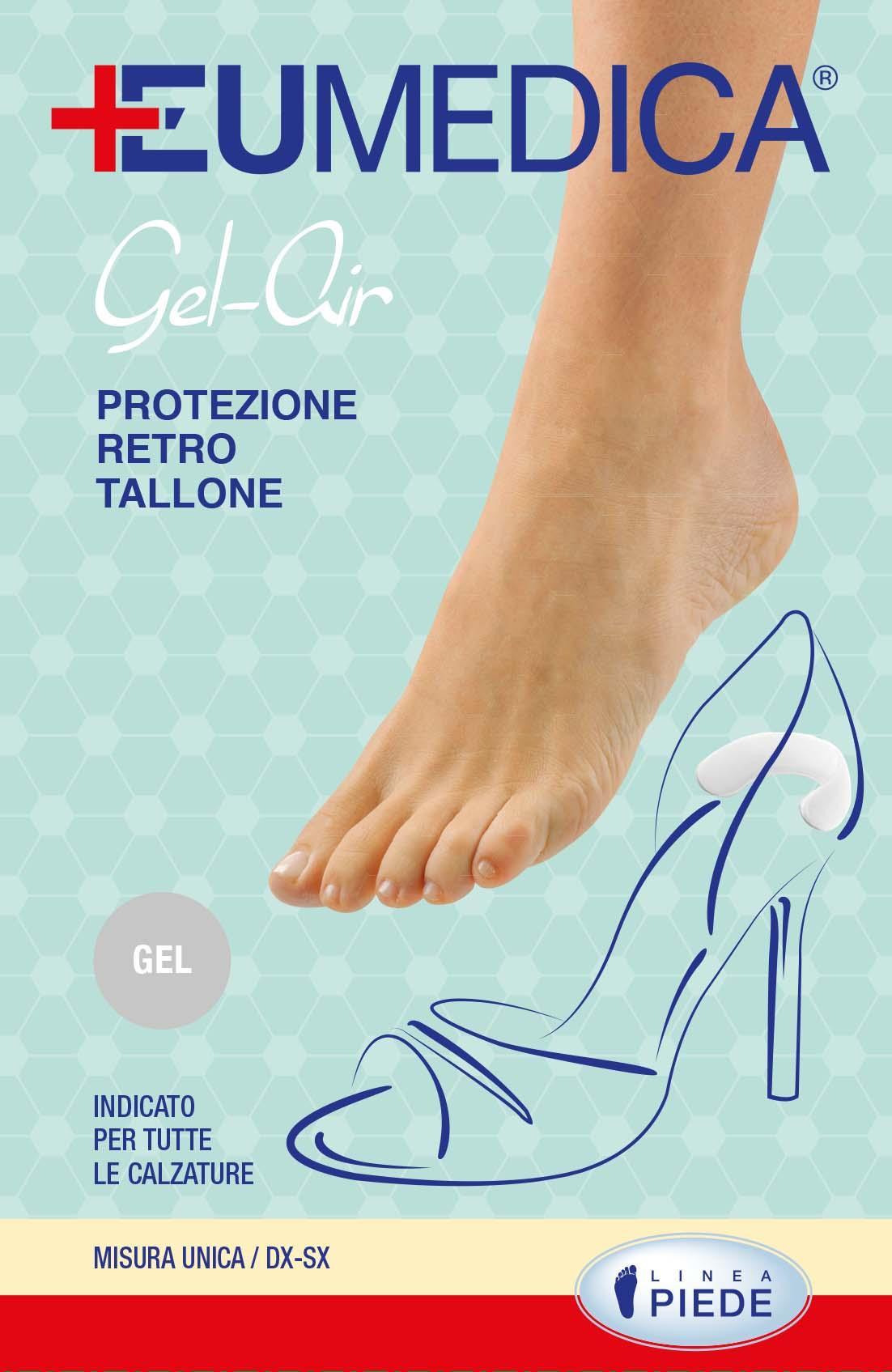 Gel-air protezione retro tallone - Protezione in gel autoaderente