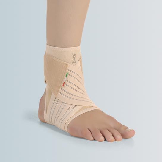 8LIGHT - Skin - Cavigliera elastica con bendaggio a 8
