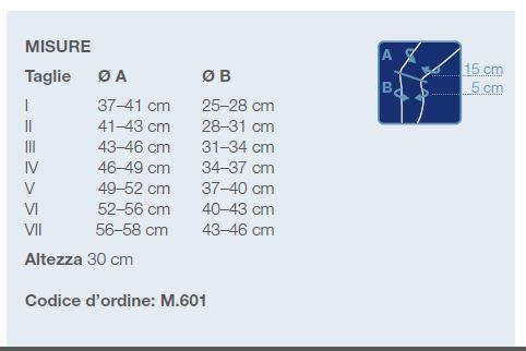 M 601 - Ginocchiera elastica