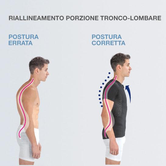 P+ TECH - MAGLIA POSTURALE - LINEA POSTURALE