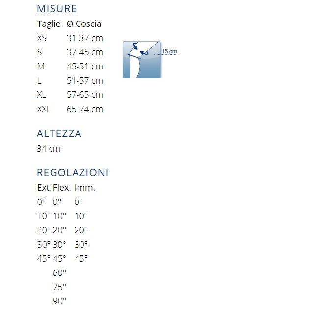 PHYLO®  72 A - Tutore ginocchio