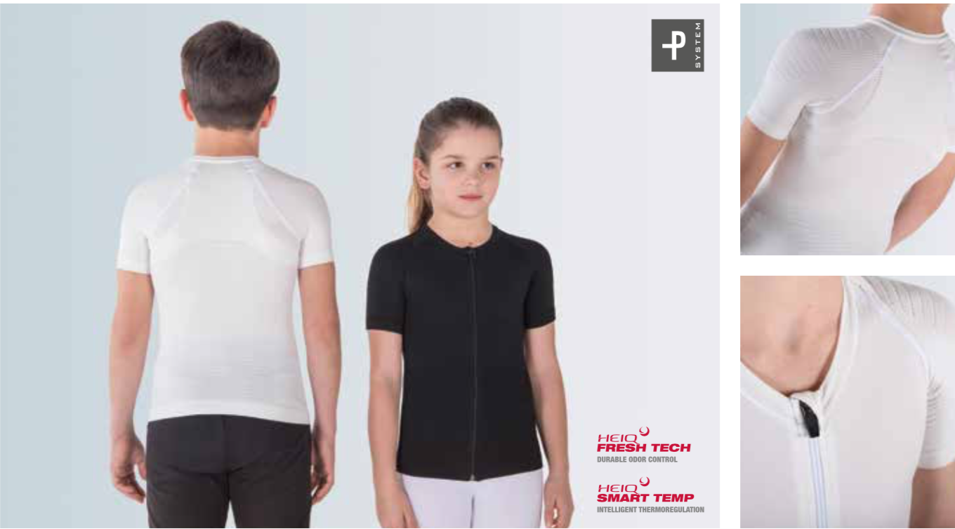 P+ YOUNG UP - Maglia posturale