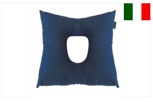 Cuscino con foro centrale in fibra cava siliconata - Cuscini antidecubito