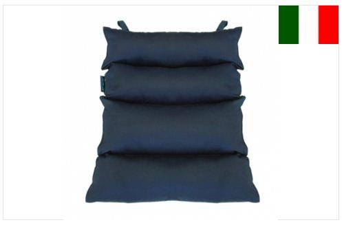 Cuscino dorsale in fibra cava siliconata - Cuscini antidecubito