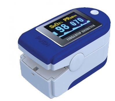 Pulsossimetro portatile da dito con display orientabile a colori con indice di perfusione - Pulsossimetri