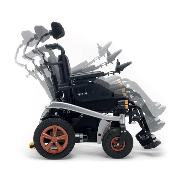 K-SPEEDY - Carrozzina elettronica in alluminio, due batterie, massimo comfort. 140 kg di portata.