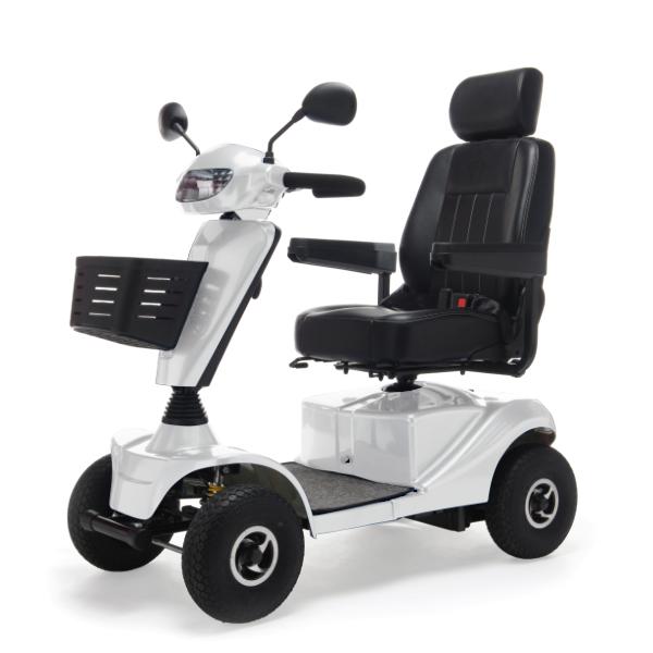 Cosmic - Scooter elettrico da esterno, massimo confort di marcia. 30 km di autonomia, portata di 160 kg.