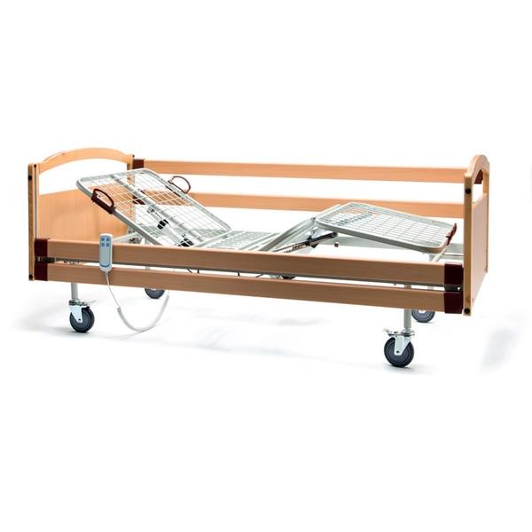 Letto Aurora - Letto a 3 snodi e 4 sezioni, con altezza fissa, e fornito di movimentazione elettrica.