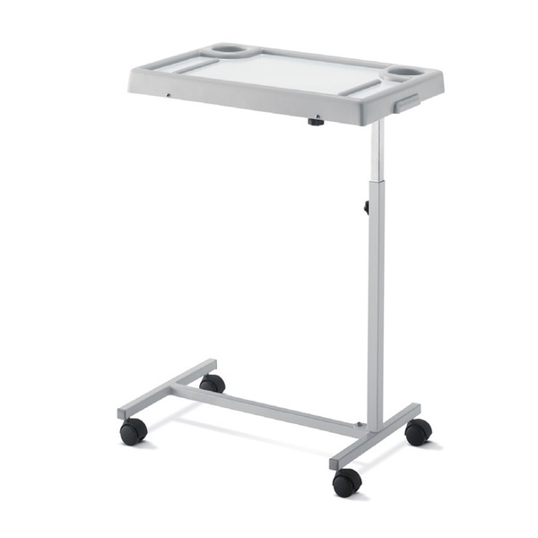 Tavolo servitore – D121 - Tavolo servitore in tubo di acciaio cromato/verniciato a sezione quadra. Smontabile.