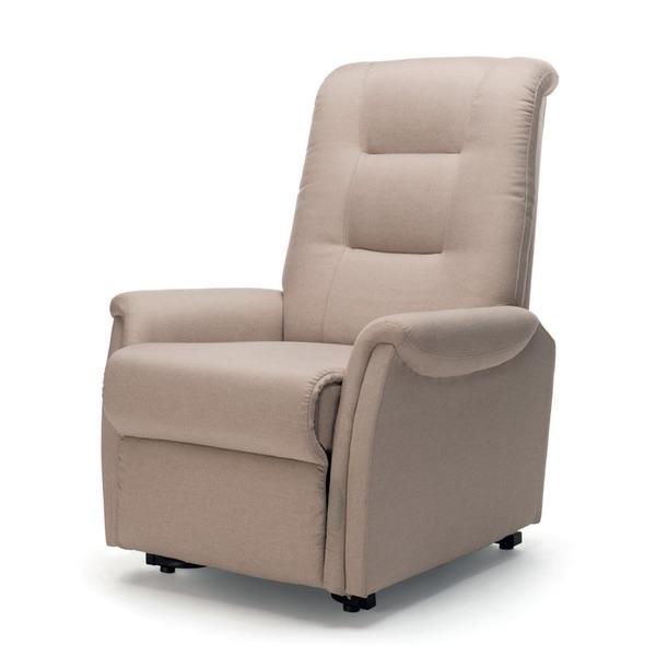Kappa 500 - Poltrona Lift-Relax a 1 o 2 motori con funzioni Lift/Relax/Bed. La portata è di 130 kg.