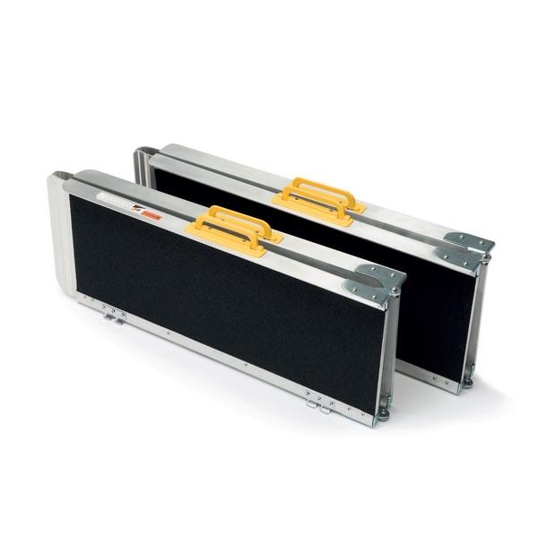 MR607TM-6 - Rampe pieghevoli e smontabili in alluminio anodizzato in formato valigia. 16 kg di peso.