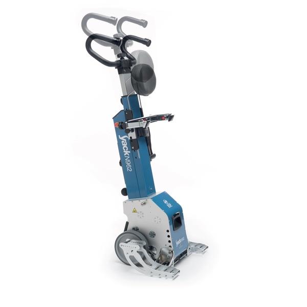 Yack N962 - Montascale a ruote con pedane per il trasporto di una vasta gamma di carrozzine. Portata 130 kg.