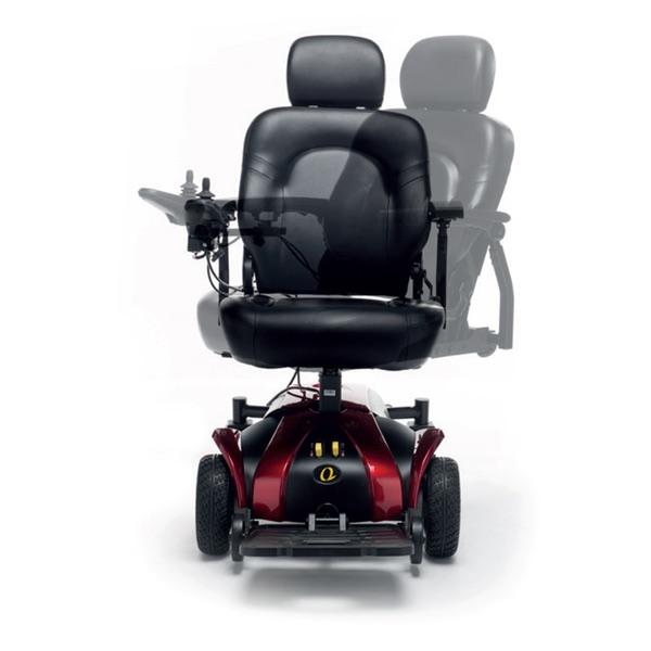 K-LIGHT - Carrozzina elettronica da interni con trazione anteriore. Capacità massima 136 kg.