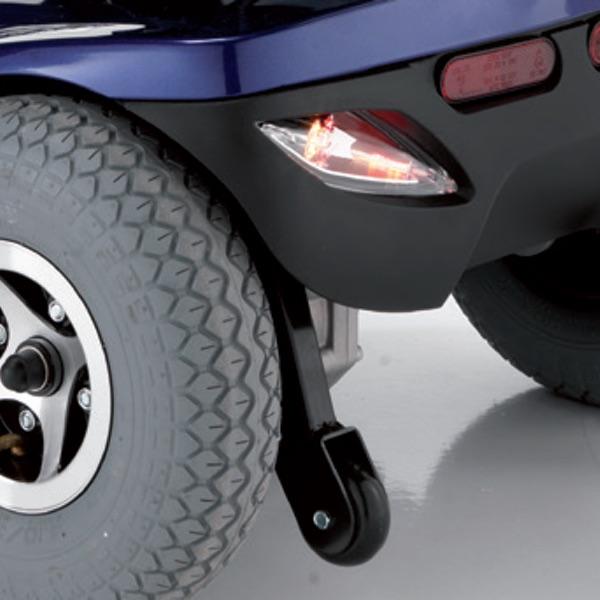 Genius - Scooter elettrico da esterno, nuovo design, dimensioni contenute. 136 kg di portata.