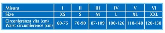 CINTURA SUPPORT SAN - 27 cm - Fascia addominale post operatoria