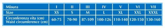 CINTURA MULTIBELT BI-ALI - 24 cm - Fascia addominale post operatoria