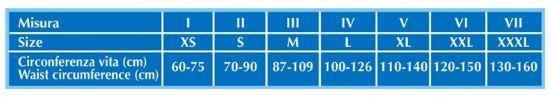 CINTURA MULTIBELT BI-ALI - 27 cm - Fascia addominale post operatoria