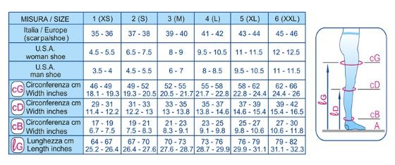GAMBALETTO K1 MICROFIBRE PUNTA CHIUSA - NERO - Calze terapeutiche classe 1