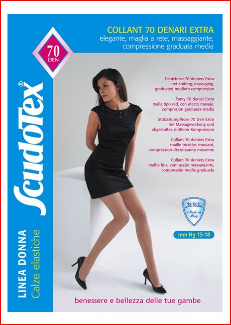 COLLANT 70 DENARI EXTRA - NERO - Collant compressione graduata