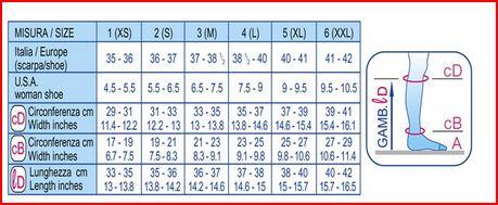 GAMBALETTO 140 DENARI - NATURE - Gambaletti compressione graduata