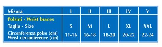 POLSINO ELASTICO NATURE - 8 cm - Polsiera elastica