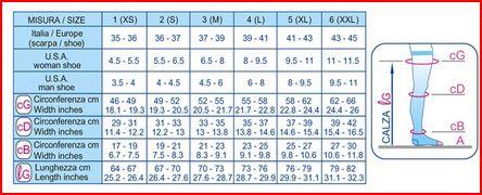 AUTOREGGENTE 140 DENARI OPEN - NERO - Autoreggenti compressione graduata