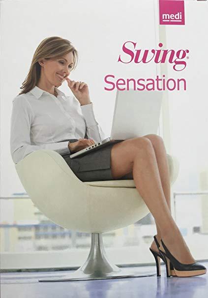 Linea Preventiva Swing Sensation - Gambaletto punta aperta - Gambaletti compressione graduata
